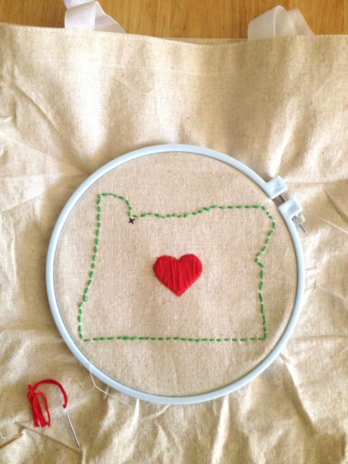 canvas bag embroidery