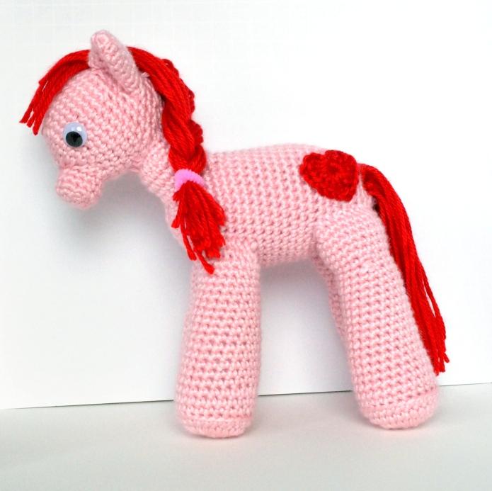 cropped pony