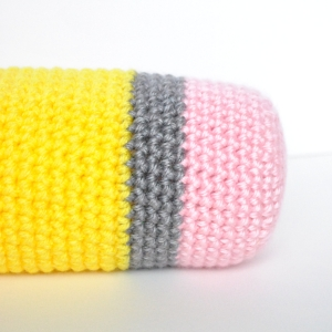 pencil eraser crochet