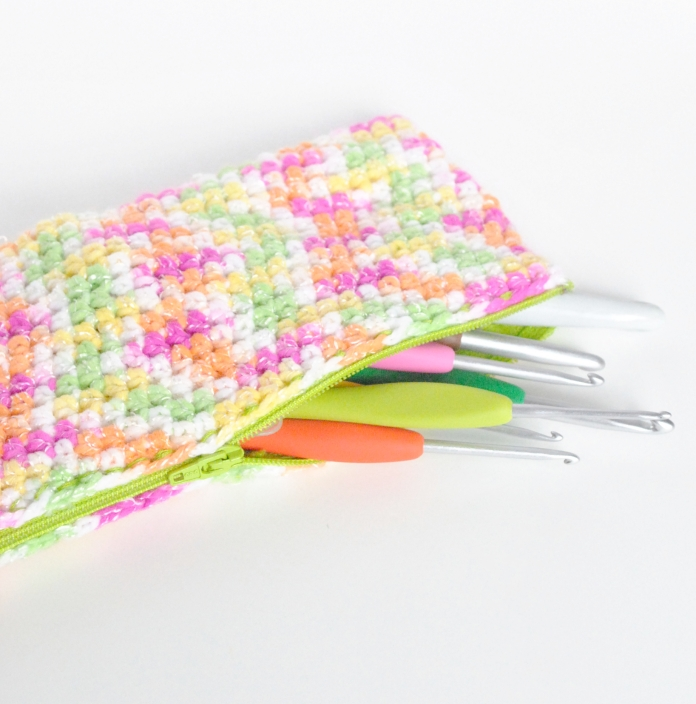 hook case square crochet
