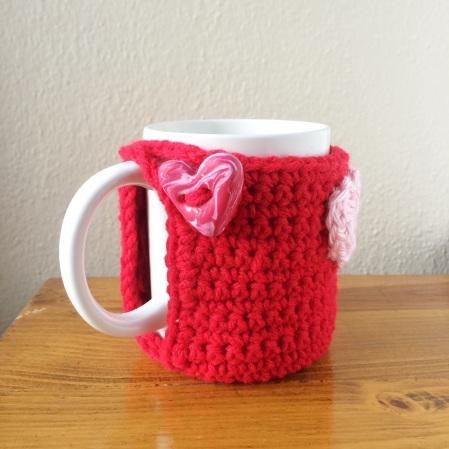 heart mug back
