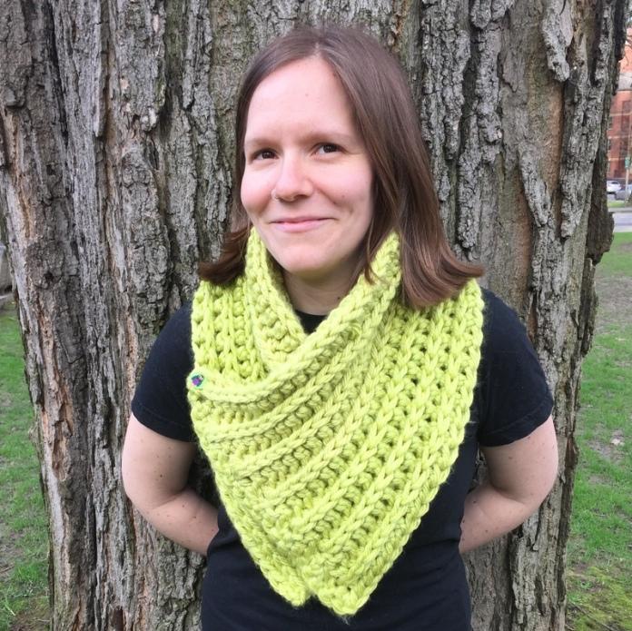 crochet chunky cowl